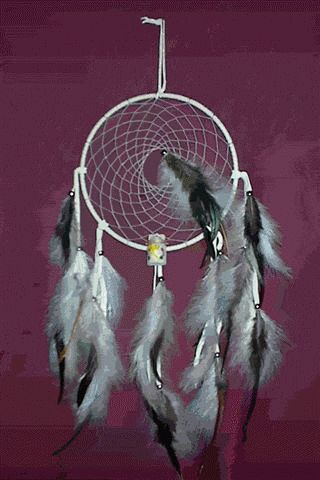 How to make a Mi'kmaq dream catcher. Links to a website with a lot of info on the Mi'kmaq people