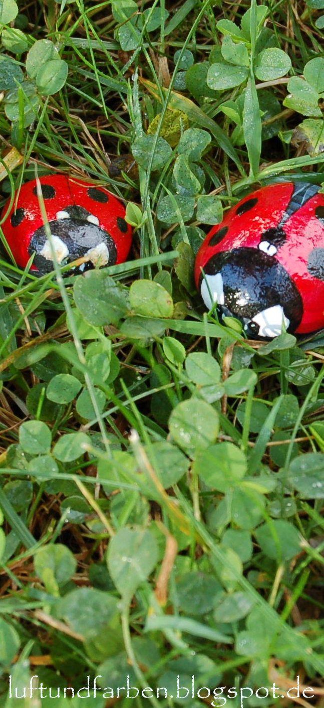 Buntes SteinAtelier: Steine für die Wichtelaktion