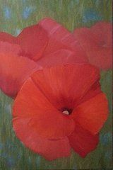 Featured Art - Poppies Forever  by Bev Alldridge