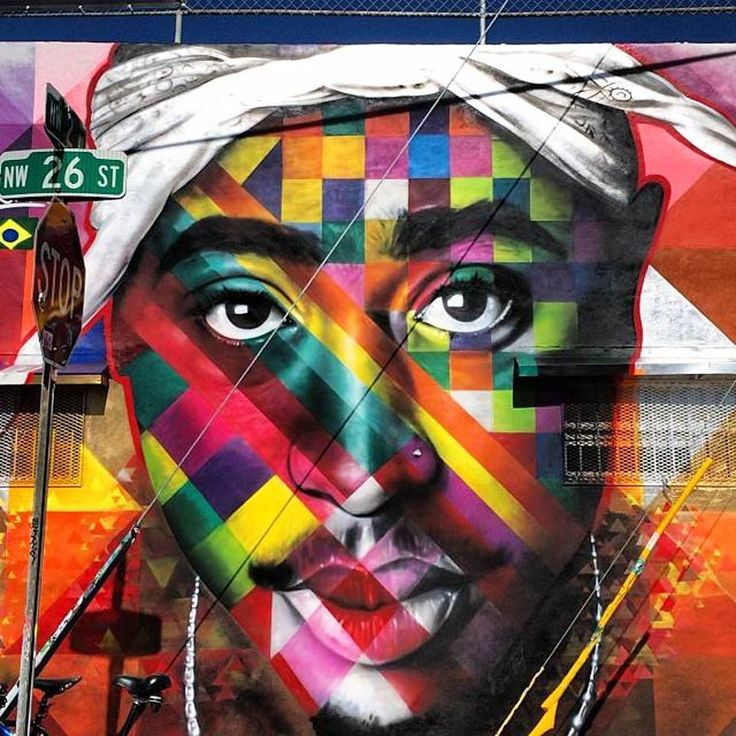 1000 images about street art by eduardo kobra on for 2pac mural new york