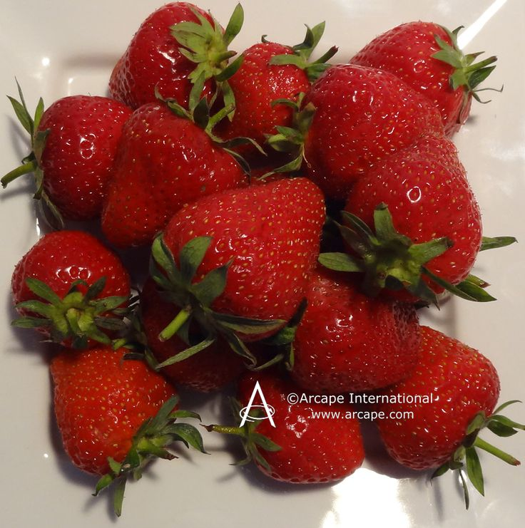 Delicious strawberries! Just in time for the tennis at Wimbledon.