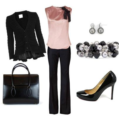Really cute work outfit. Love the top. Perhaps a slightly different colour though.