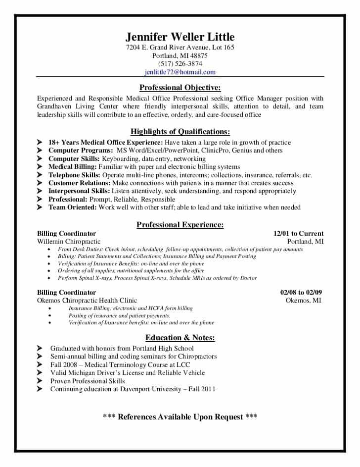 Medical Billing And Coding Job Description Sample Medical Coder Resume Medical Assistant Resume Resume Skills