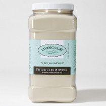 Living Clay™ Detox Clay Powder 3.7l tub $150 All Natural Calcium Bentonite Clay.