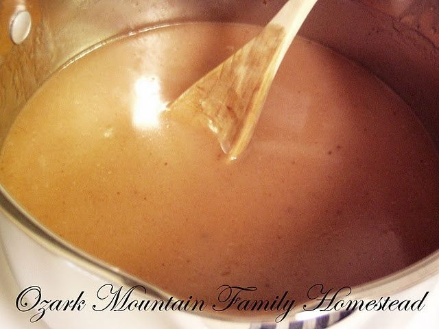 Amish Cinnamon Sauce for pancakes, french toast, ice cream, or for anything!
