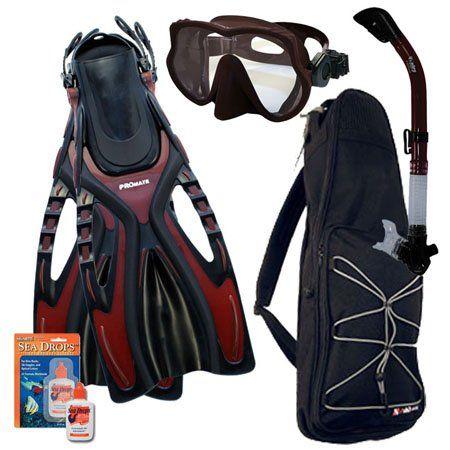Snorkeling Scuba Diving Snorkel Mask Fins Gear Bag Dive Set - http://scuba.megainfohouse.com/snorkeling-scuba-diving-snorkel-mask-fins-gear-bag-dive-set.html/