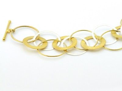 Gold and Silver loops bracelet (sold out)