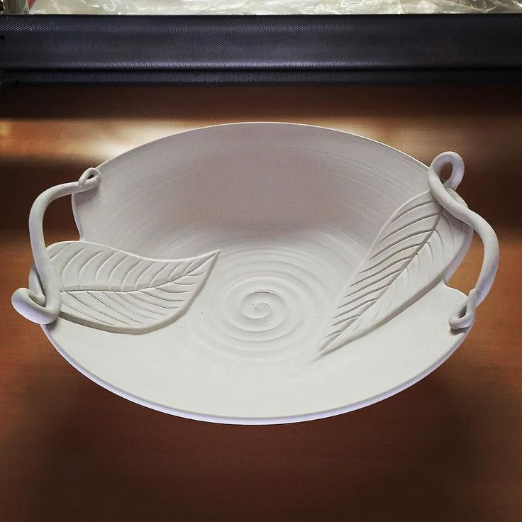Handmade large bowl - pottery & 246 best Handmade Stoneware Plates and Platters images on Pinterest ...