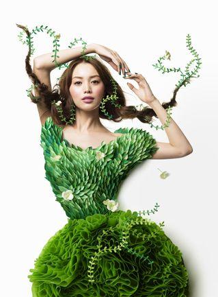 Shiseido calendar 2015 May. Paper craft by Ayame Kikuchi