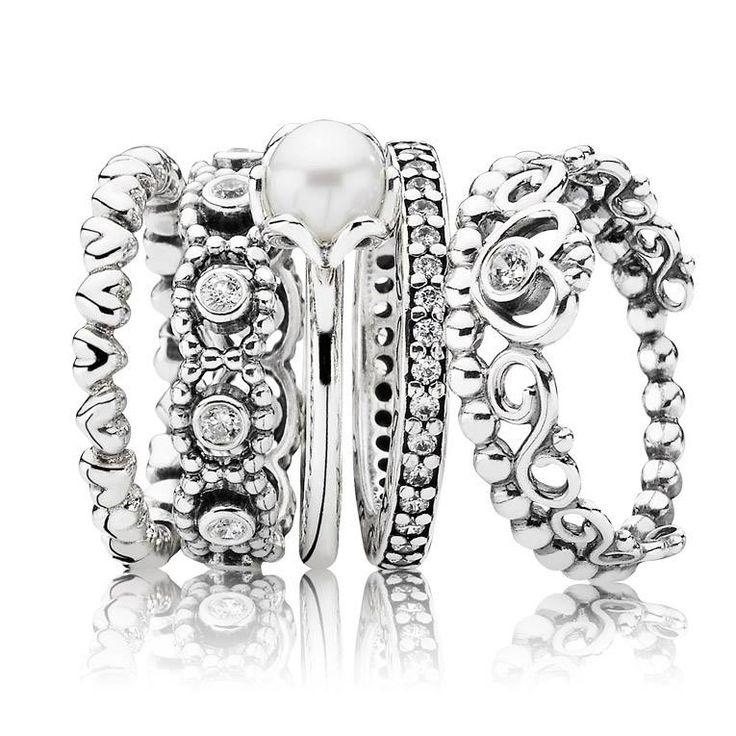 Nobody stacks rings like Pandora!