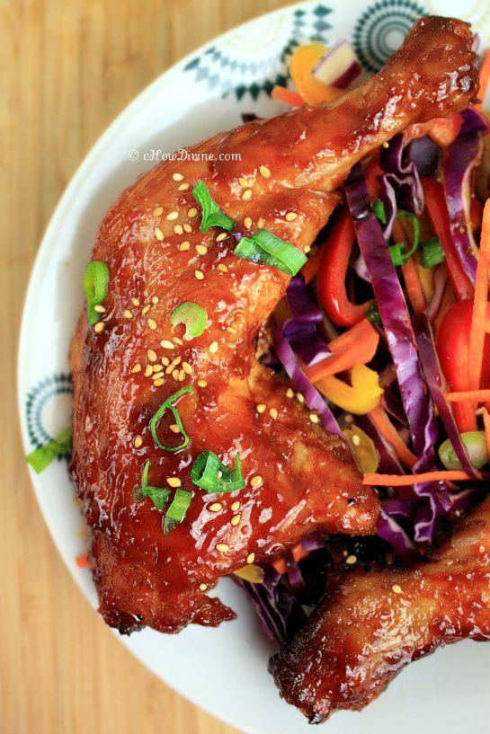 ... Food, Roasted Chicken, Korean Food Recipe, Spicy Chicken, Chicken Legs