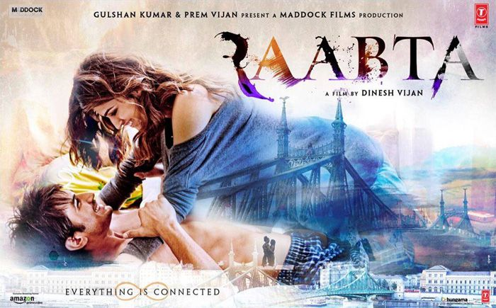 Raabta Movie Details, Story Line, Star Cast and Details, Raabta Movie Budget, Official Trailer, Review, Songs List, Release Date, Bollywood movies