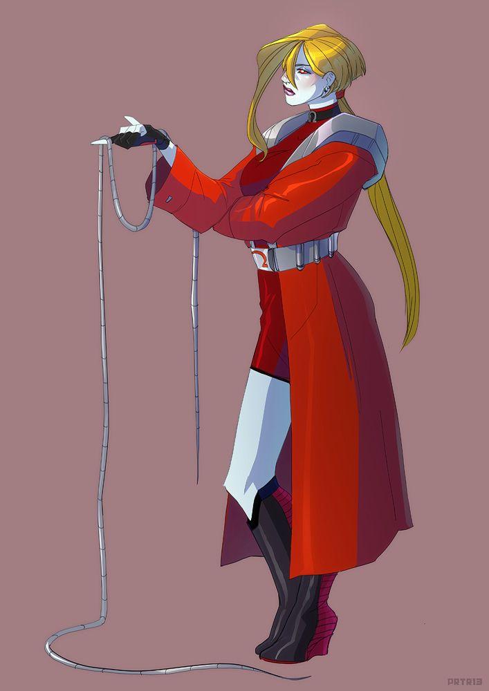 Female Omega Red - Priscilla Tramontano
