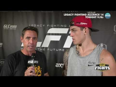 MMA Brendan Allen, Eryk Anders speak with AXS TV's Ron Kruck ahead of LFA 14