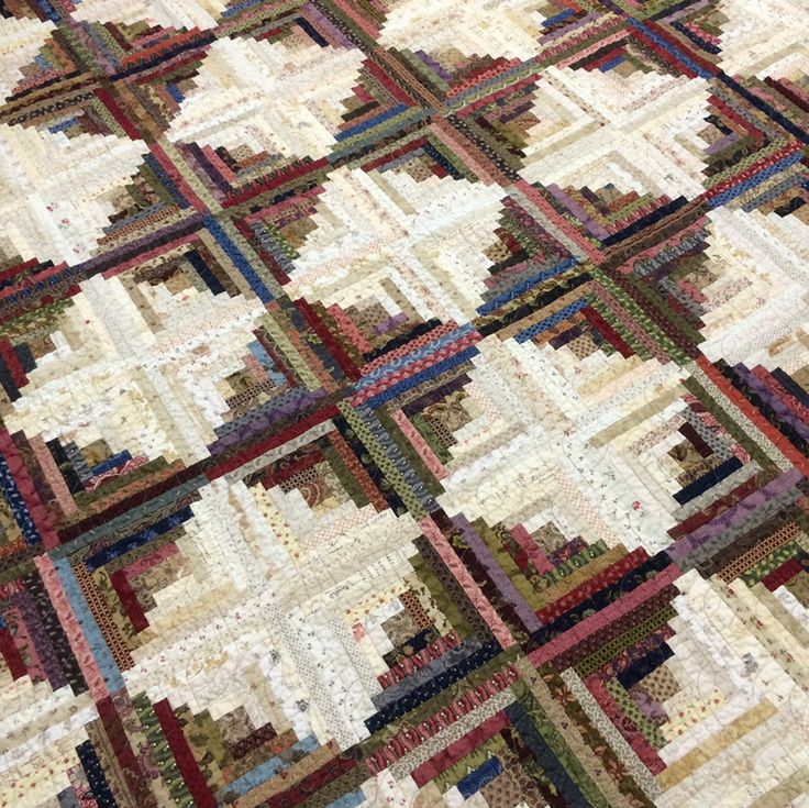 a cabins log almost cabin quilt tutorial
