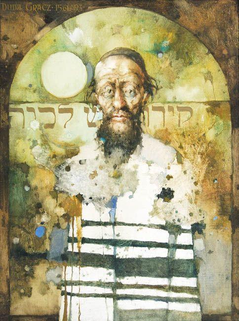 Jerzy Duda Gracz | Prayer, 1993 | oil, canvas, plywood | 80 x 60 cm