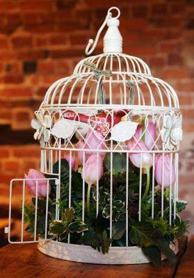 Cipria Rétro: Gabbiette per uccellini rétro