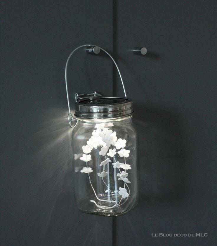 17 meilleures id es propos de bocaux solaires sur pinterest lampes solaires lampes de. Black Bedroom Furniture Sets. Home Design Ideas