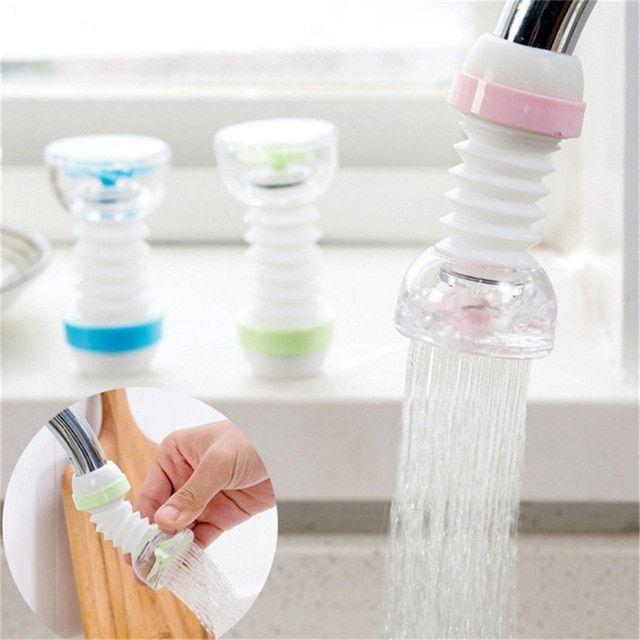 Anti Splash Faucet Filter Tip Kitchen Water Filter Sprayer Tap Water Strainer Dropshipping June Faucet Extender Faucet Shower Taps