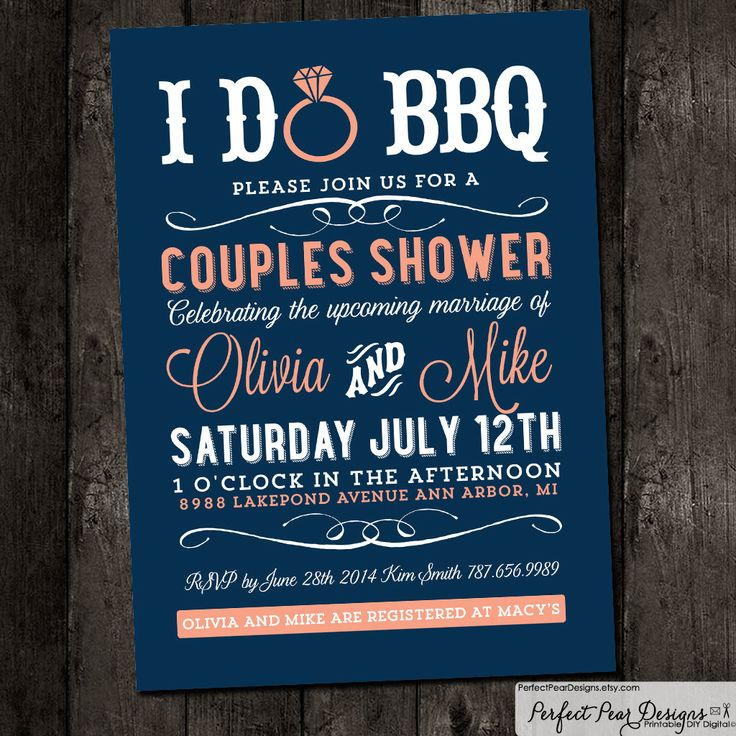 65 best coral navy wedding shower event images on pinterest couples shower i do bbq barbecue business picnic summer fourth of july wedding bridal coral pink navy blue diy digital printable filmwisefo Image collections