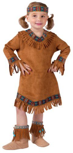 Native American Indian Costumes of Women, Teens and Small Girls for Halloween