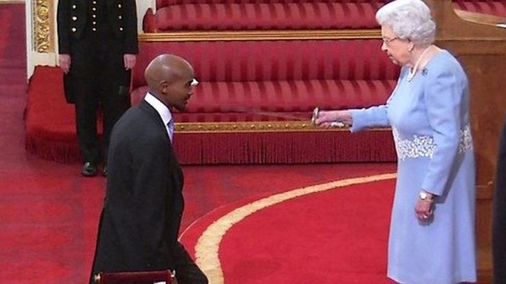 Arise, Sir Mohamed The Queen awarded athlete Mo Farah a knighthood for services to athletics. Congratulations Sir Mo! Well deserved