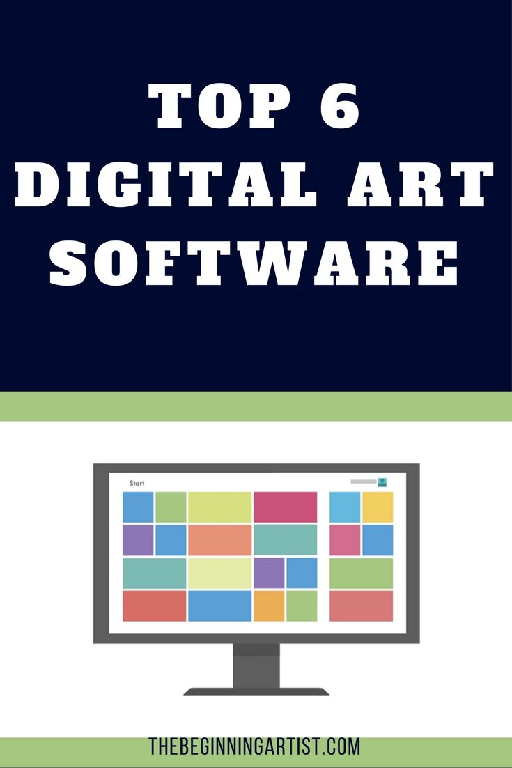 Our top 6 of digital art software; including program such as Photoshop, Colar Painter, Manga Studio Pro, Anime Studio Pro etc.