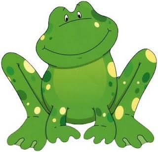 Frogs clip art: