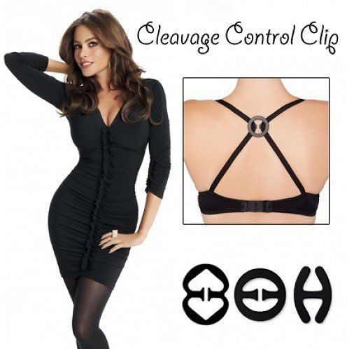 3-Pack: Cleavage Control Bra Clips (new Link)
