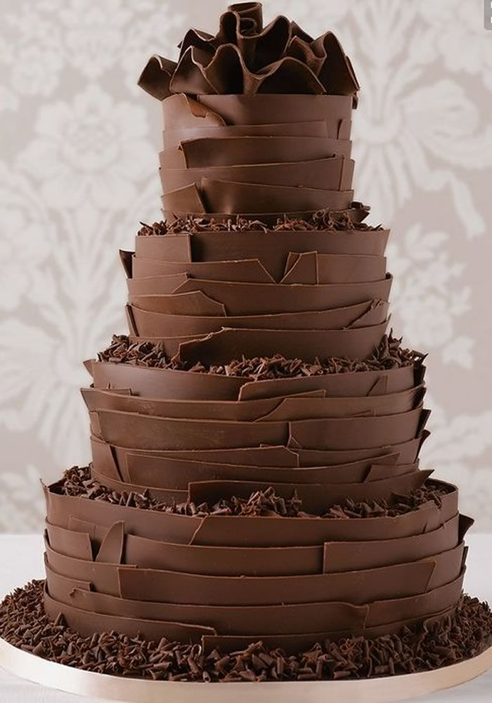 brown wedding cake best 25 chocolate wedding cakes ideas on 12195