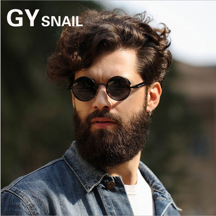 GYSNAIL 2017 Steampunk Sunglasses Men Polarized Round Gothic Glasses Women SteamPunk Goggles Vintage sunglass male oculos de sol #Affiliate