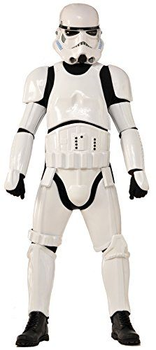 Collector Supreme Edition Star Wars Stormtrooper Costume White Adult Standard -- Click on the image for additional details.