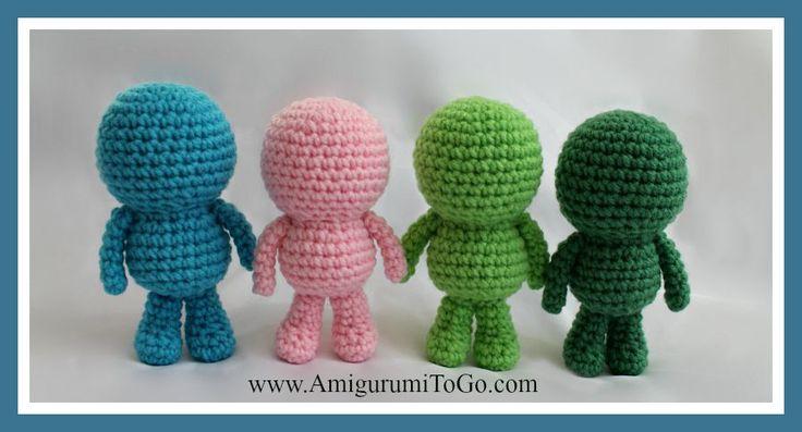 Amigurumi Geek Patterns : Amigurumi to go great wee bits bodies that can be
