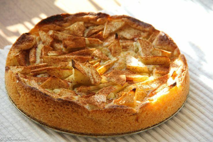 Äppelkaka Med Kanel #äppelkaka #receptäppelkaka #kanel #recette #recipe #slankosund