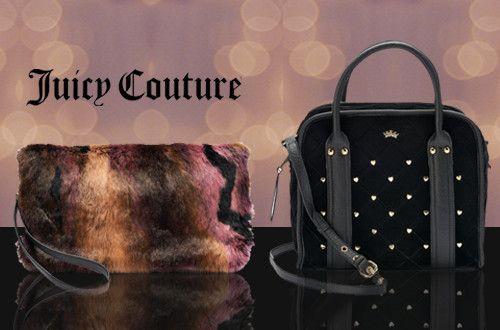 Γυναικείες τσάντες Juicy Couture σε 2 νέα σχέδια: σε βελούδο ή γούνα με έκπτωση έως -40%
