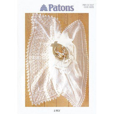 Baby Blanket in Patons Fairytale 2 Ply - 5347. Discover more Patterns by Patons at LoveKnitting. We stock yarns, needles, books and patterns from all of your favourite brands.