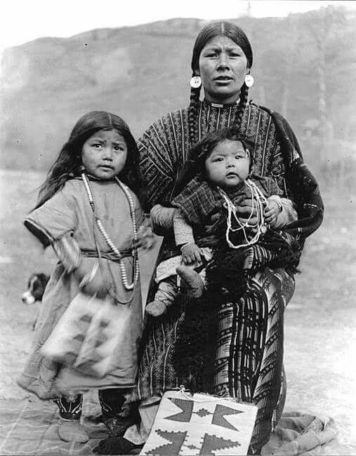 nez perce woman and children