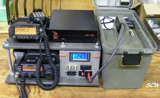 VHF Self Contained Go-Box...a build w/Pics (not yet finished)