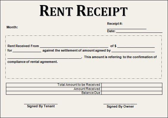 Free Rent Receipt Template Inspirational 12 House Rent Receipt Formats Hamiltonplastering In 2020 Receipt Template Free Receipt Template Rent