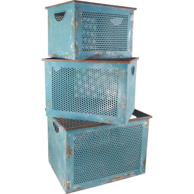 Clamart metal boxes