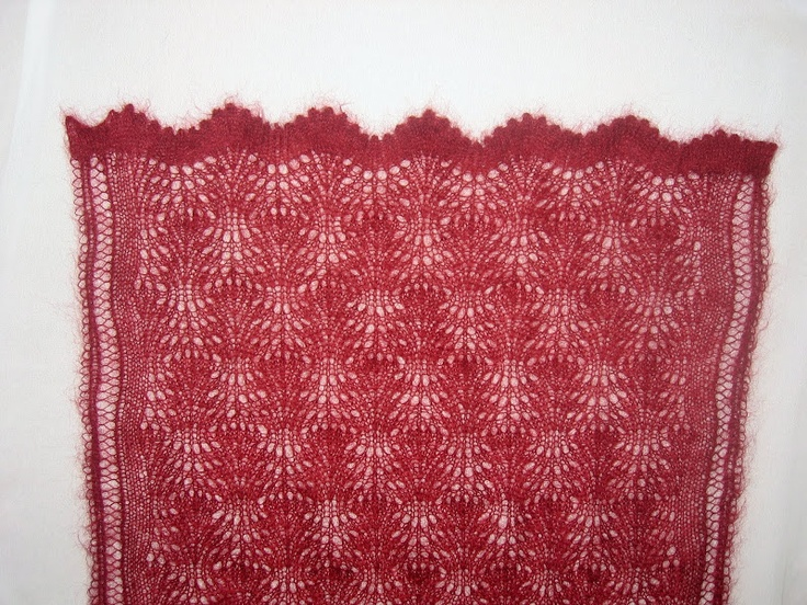 Ostrich Plumes Shawl by Eugen Beugler.