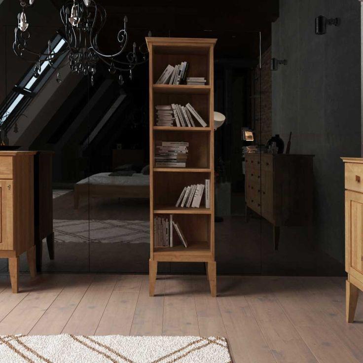 Bookshelf Made Of Wild Oak Solid Wood 50 Cm Wide Order Now Under Moebel Regal Bucherregal Ideen Wandregal Modern