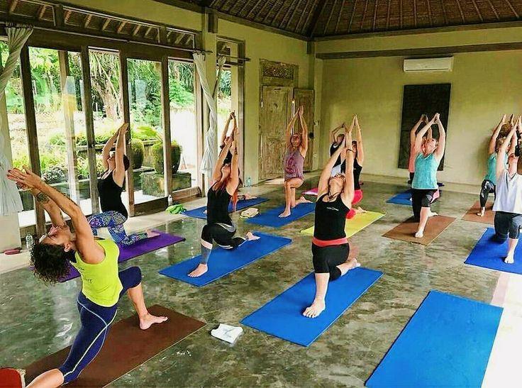 Maximum stretching and find out how flexible you are!  .. Daily Yoga activity conducted in our Moya Yoga studio by @villasresorts @balivily @luciaburesova7 @veru_dubova .. #yogainspiration #yogainubud #yoga #yogadaily #yogacommunity #yogaresort #yogaretreat #yogapractice #Bali #Бали #バリ島 #巴厘岛 #발리섬 #Ubud #Убуд #ウブド #乌布 #우붓 #йога #ヨガ #瑜伽 #요가 #BaliSafe #visitbali #balisafefortourism #balisafeforholiday