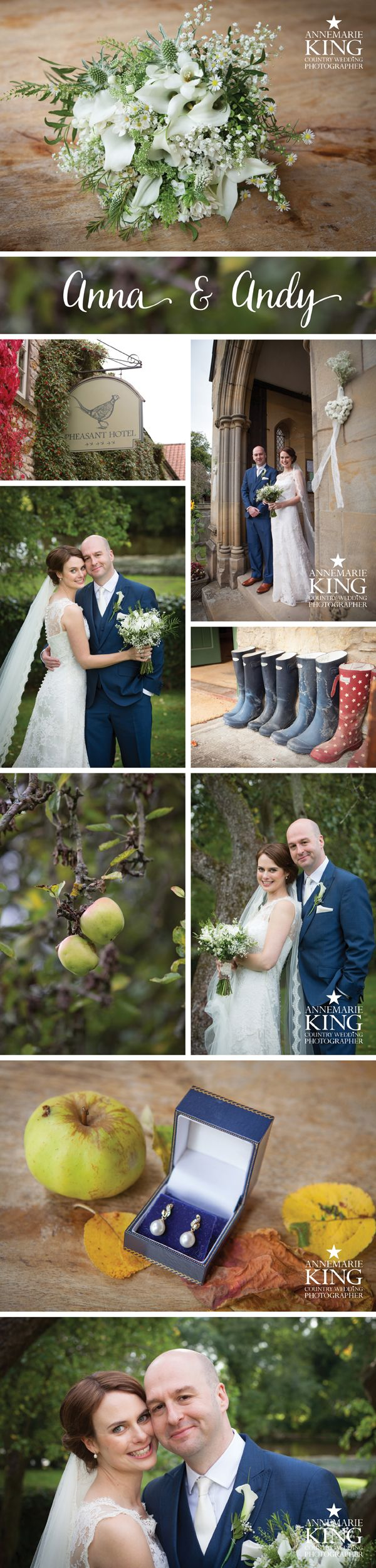 Country wedding at The Pheasant Hotel, Harome | Yorkshire