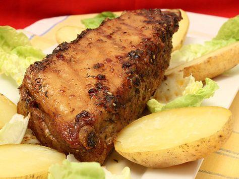 Travers de Porc au Four à la Mexicaine - Préparation rapide mais cuisson lente pour cette recette goûteuse ! Photo : http://la-cuisine-des-jours.over-blog.com © 2013