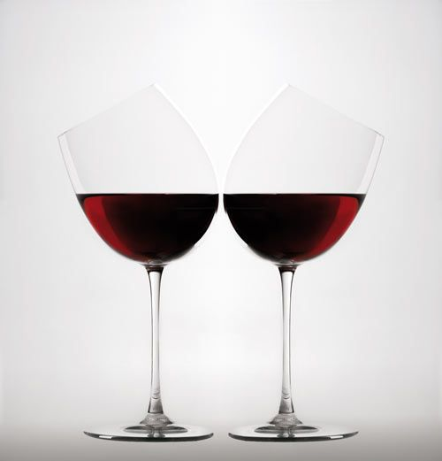 Wine Glass by Gumdesign via design-milk
