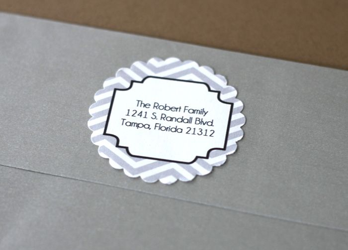 free editable/printable address labels