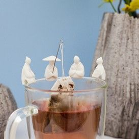 Tea Fishermen #kikkerland #thee-ei #thee #cadeau #theecadeau #sinterklaascadeau #kerstcadeau #moederdag #moederdagcadeau