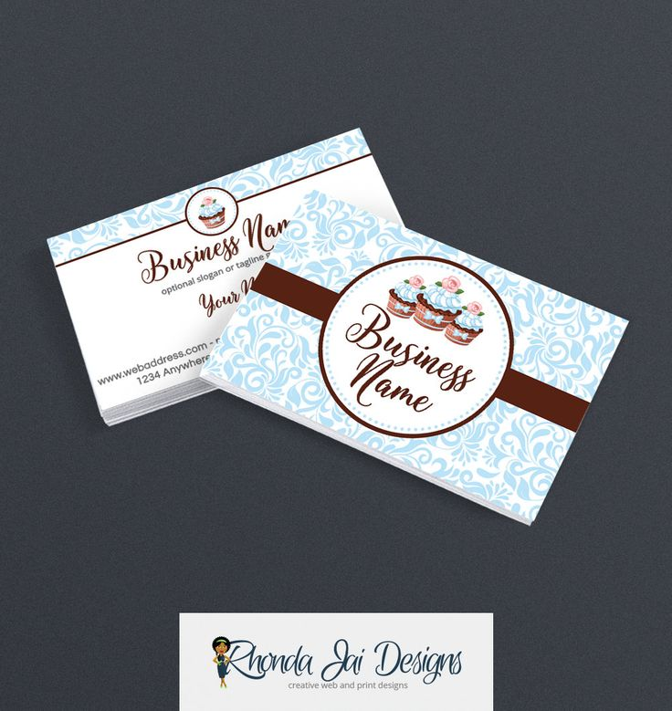 57 best etsy business cards images on pinterest business card bakery business card design pastry chef business card design 2 sided business card design cupcake delight save when you use discount code during colourmoves