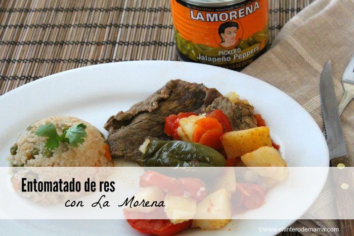 Deliciosa receta de Entomatado de res con La Morena - vía @ElTinteroDeMama
